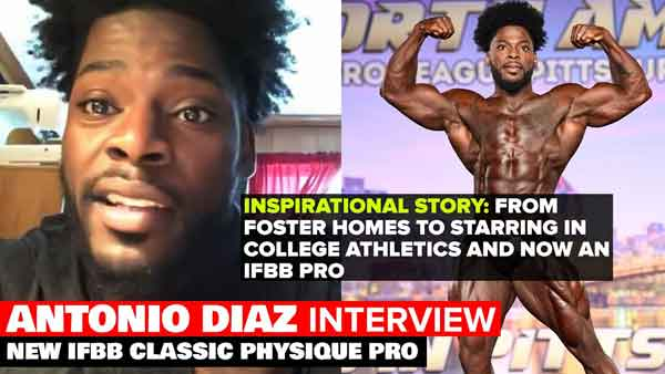 Antonio Diaz Interview