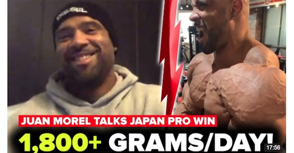 juan morel on japan pro