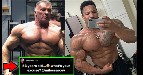 MILOS SARCEV DEFIES AGE PATRICK MOORE TURNS UP FREAK FACTOR