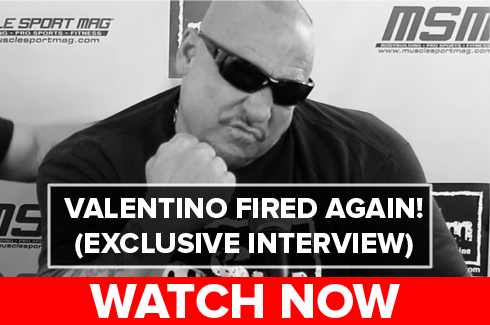 gregg valentino fired by musclesport mag