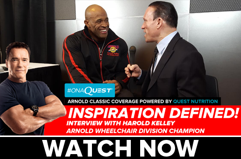 interview with harold kelley arnold classic wheelchair champion