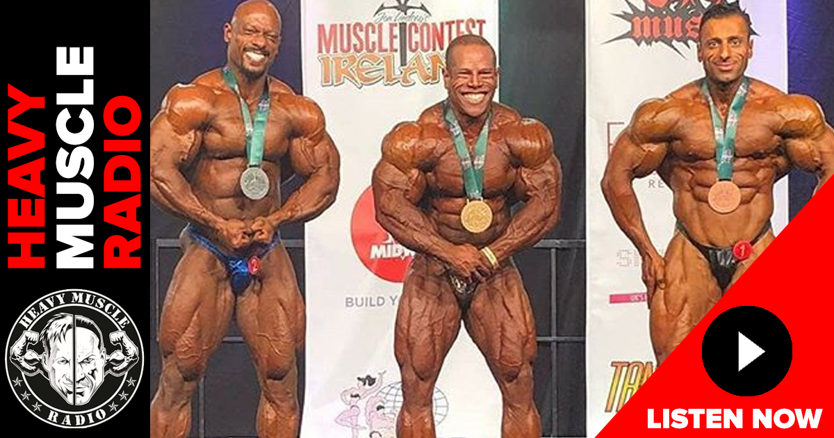 david henry muscle contest ireland