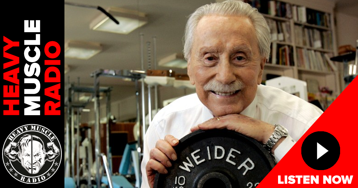 joe weider remembered hmr