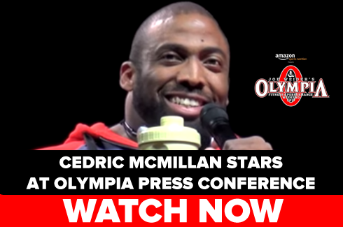 cedric mcmillan olympia press conference