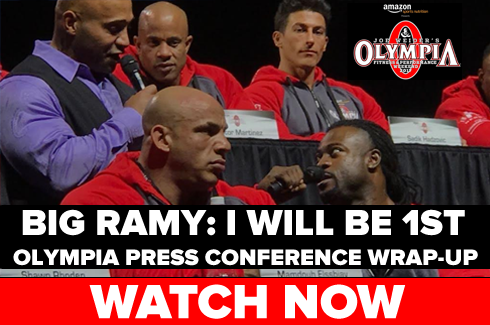 olympia press conference 2017