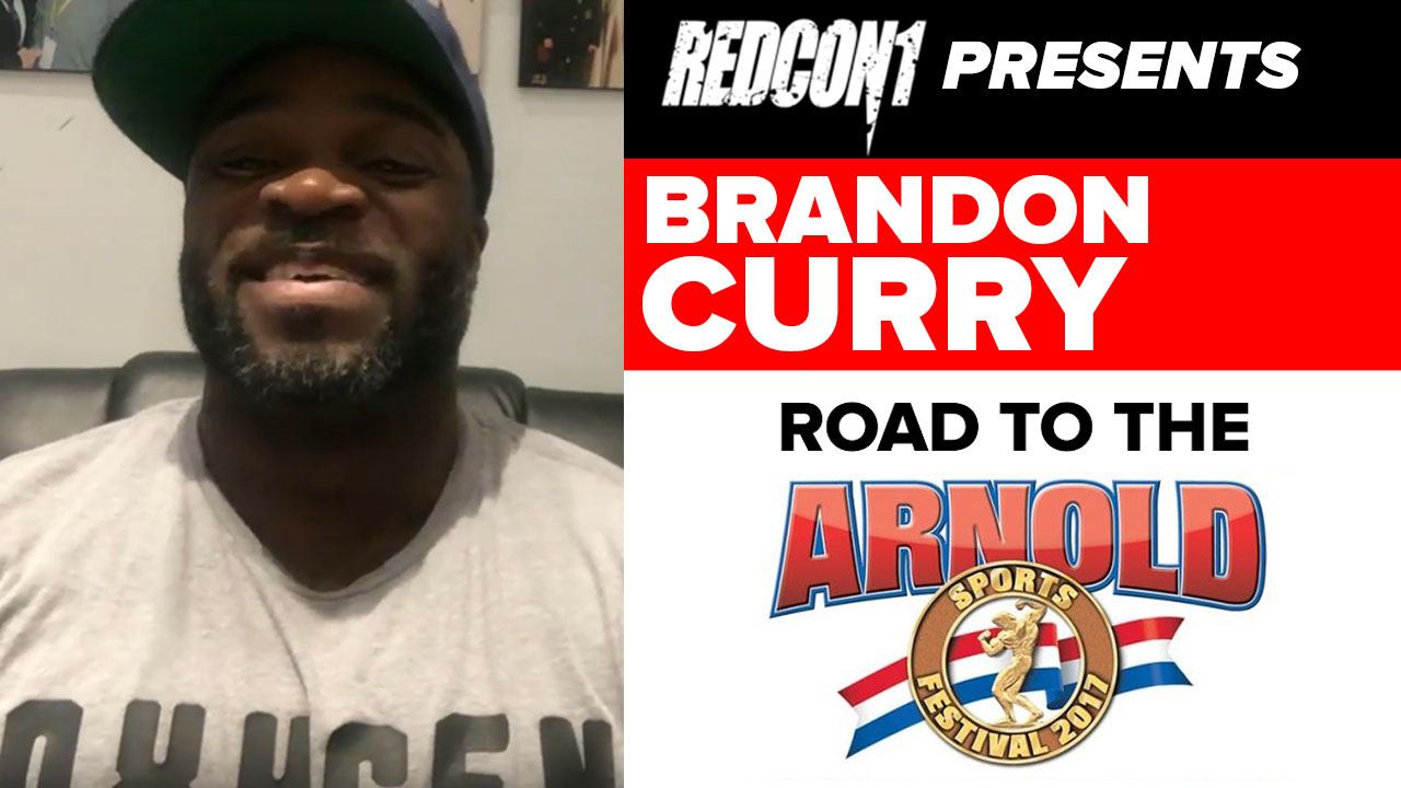 brandon curry interview pre arnold classic 2019