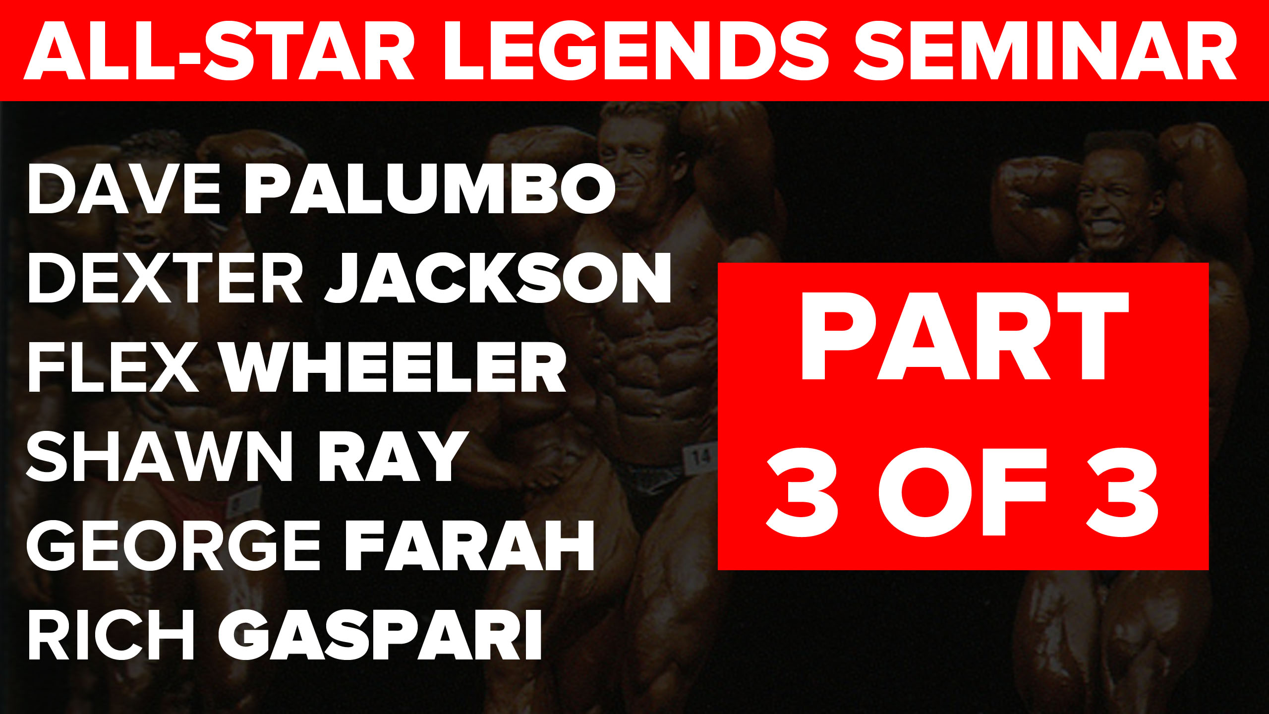 legends seminar part 3