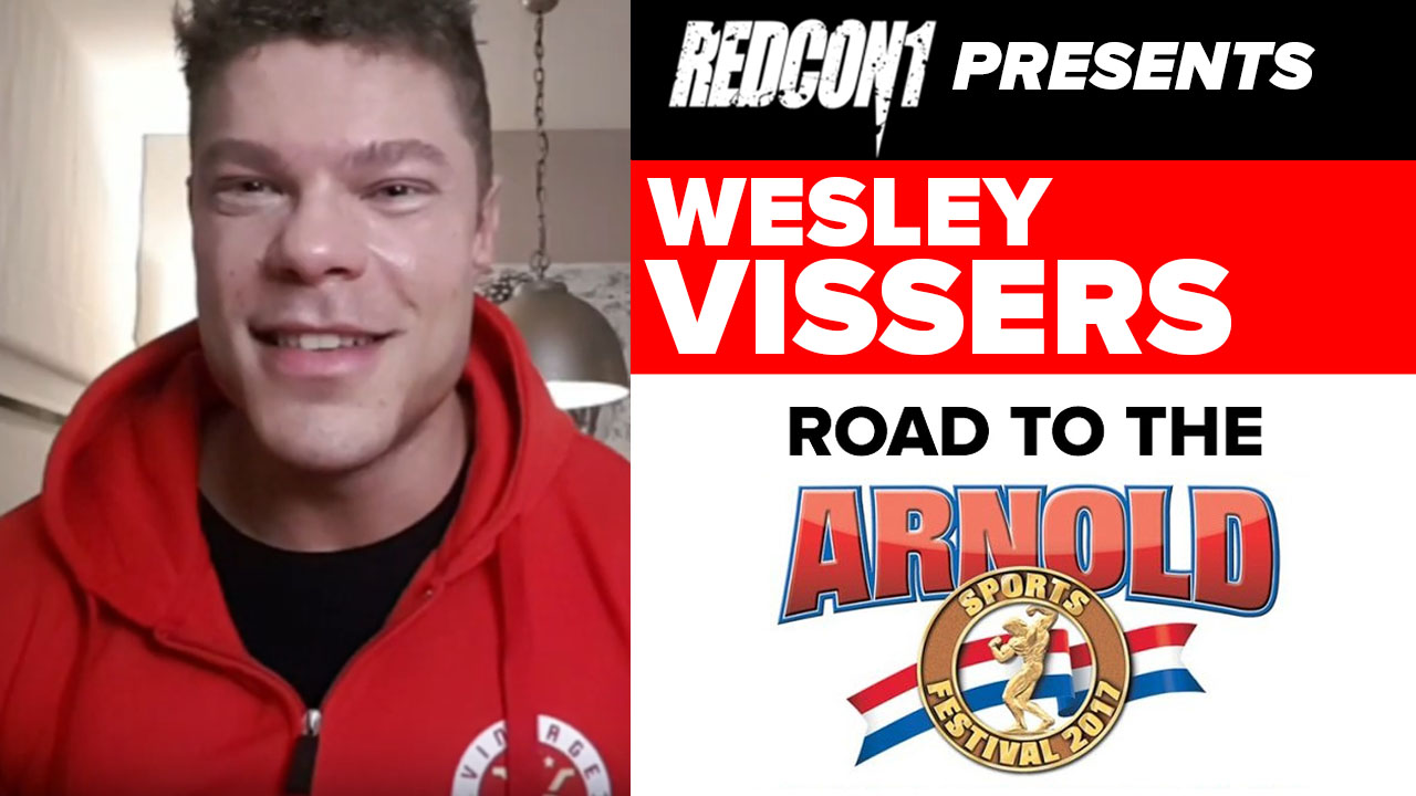 wesley vissers interview pre arnold classic 2019