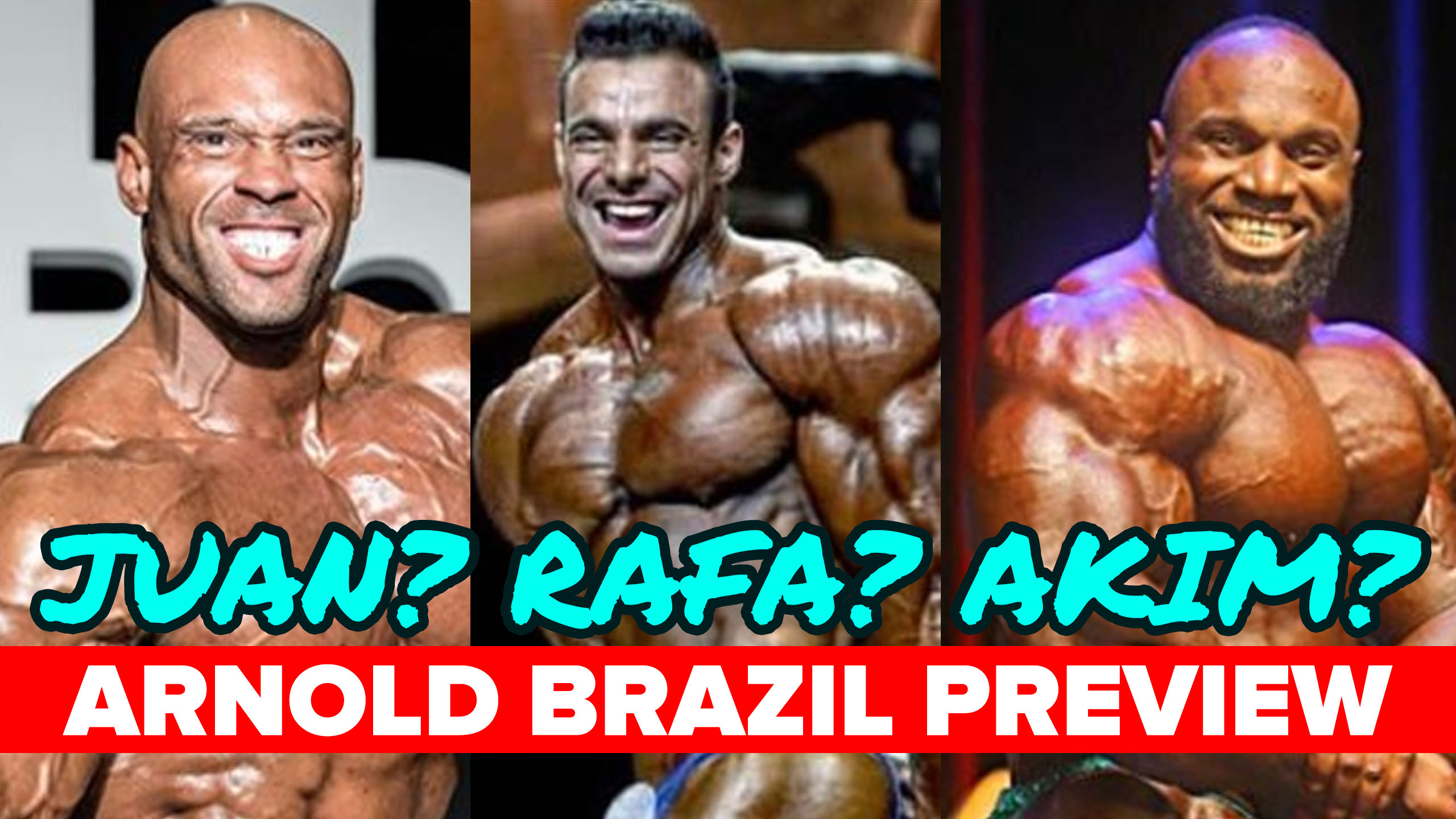 arnold brazil preview
