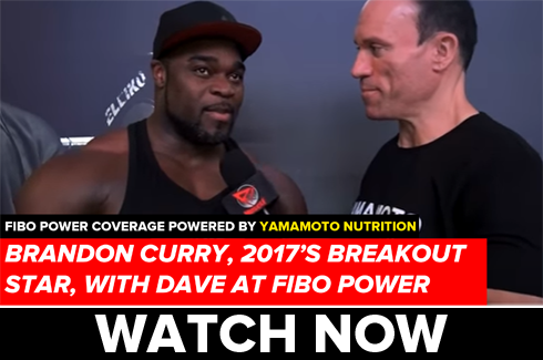brandon curry interview at fibo power 2017