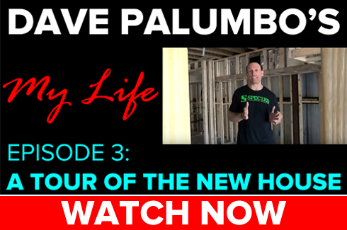 dave palumbo my life episode 3 tour of the new house