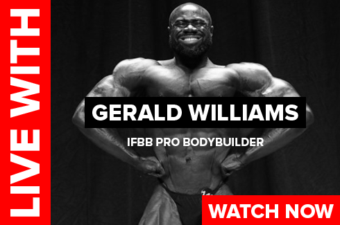 gerald williams bodybuilder interview on rxmuscle