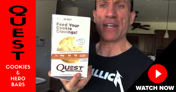 quest cookies hero bars