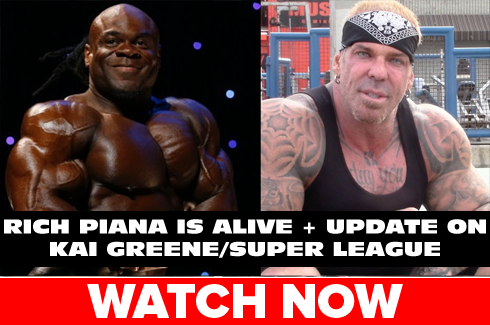 rich piana update