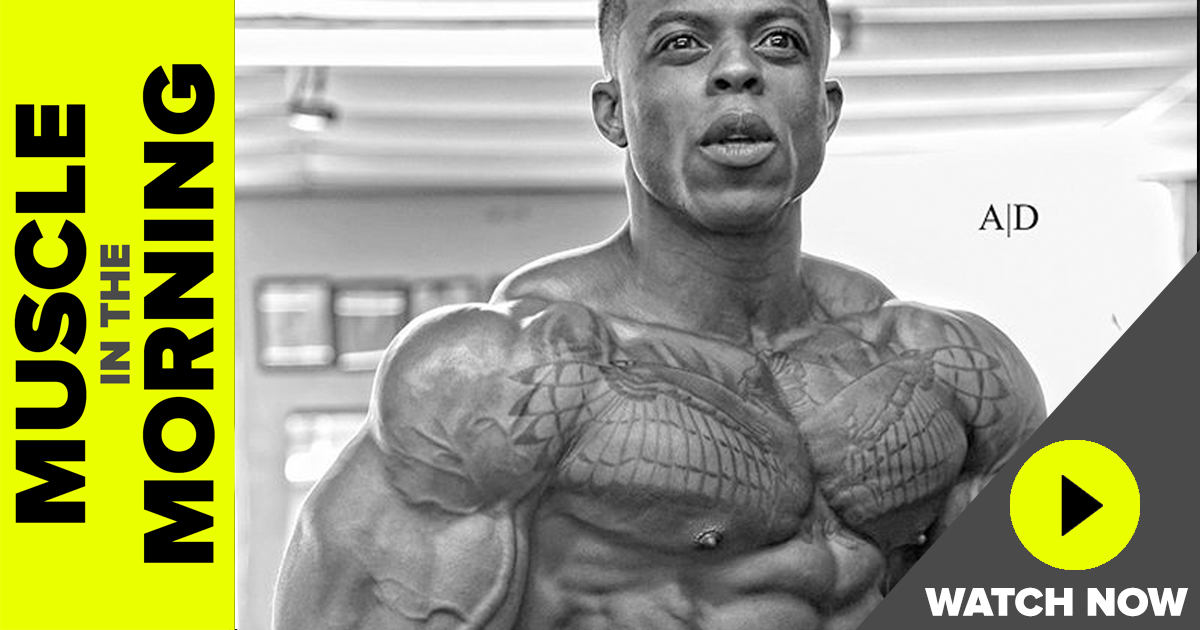 andre ferguson muscle in the morning