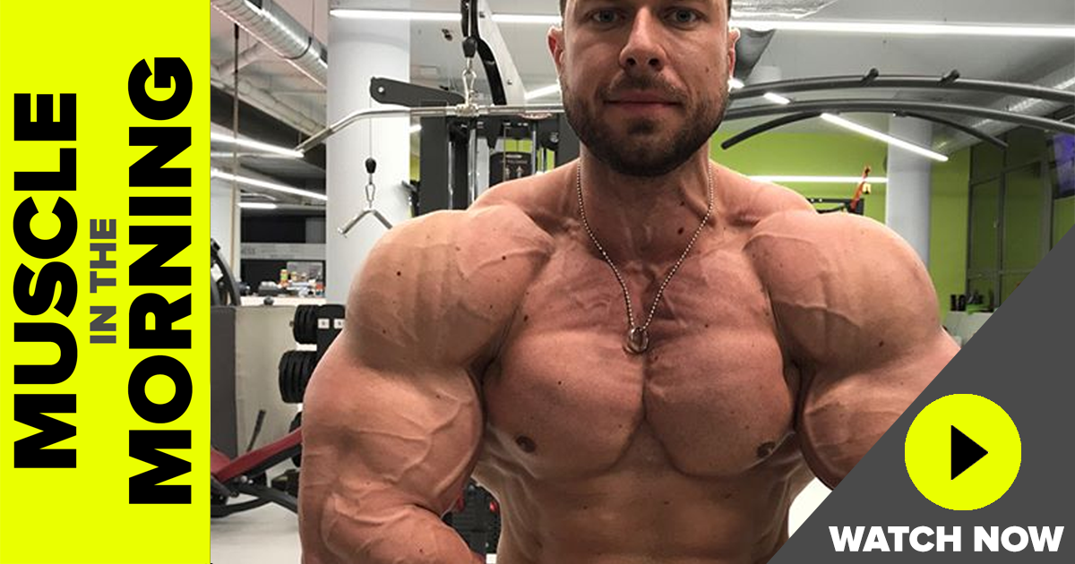 milan sadek muscle in the morning