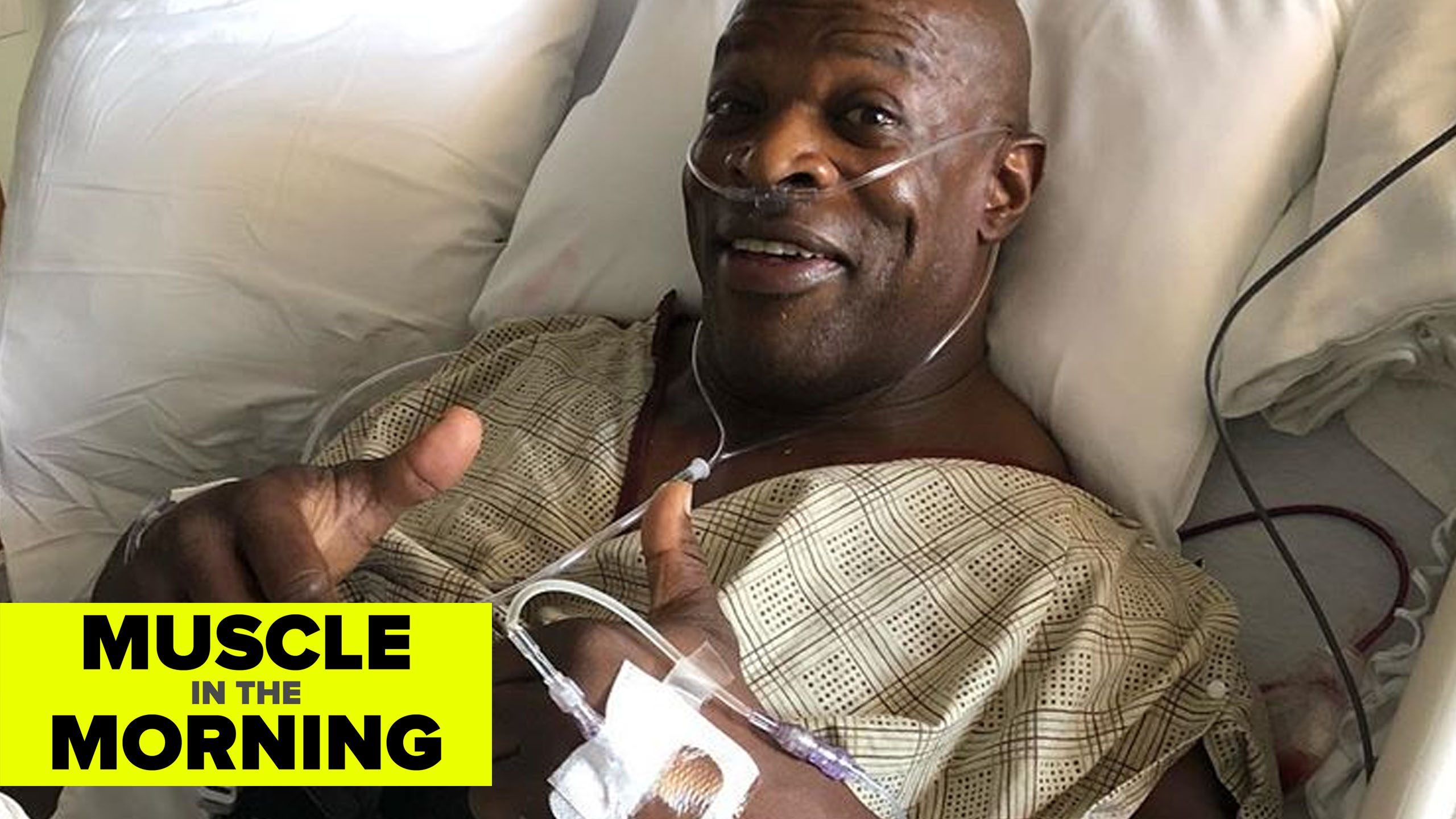 ronnie coleman recovery