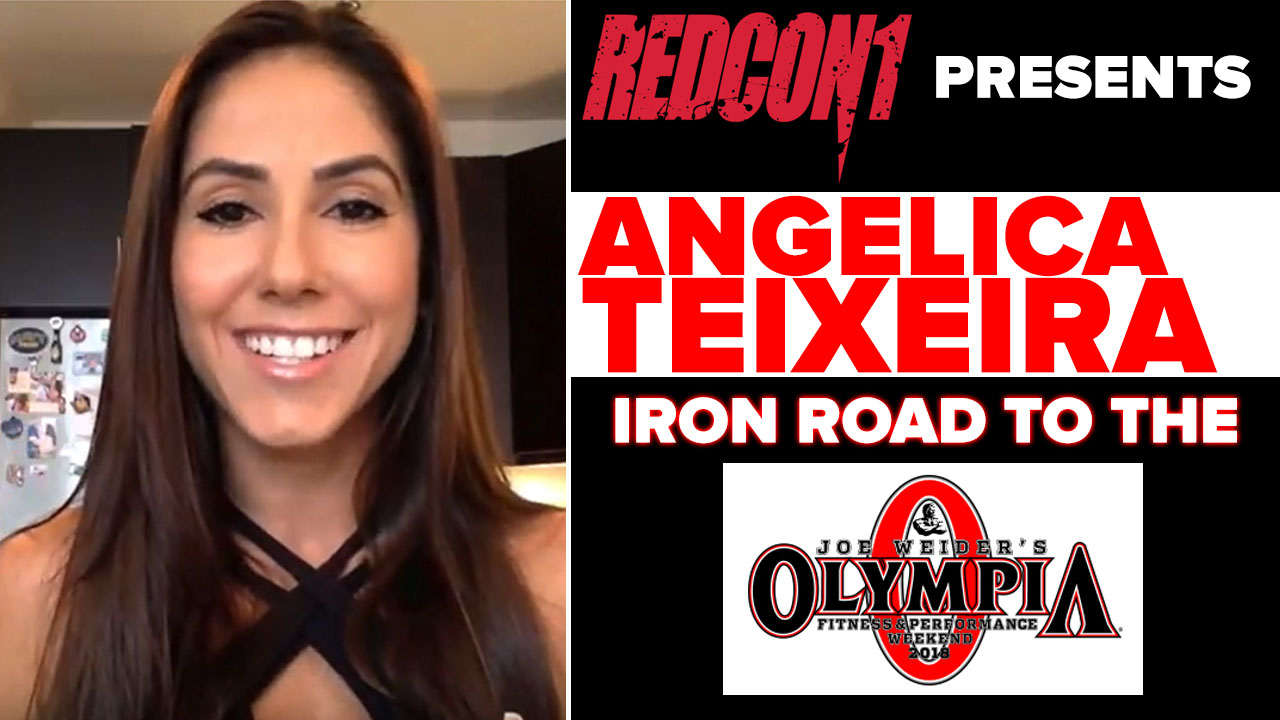 angelica teixeira interview pre olympia 2018