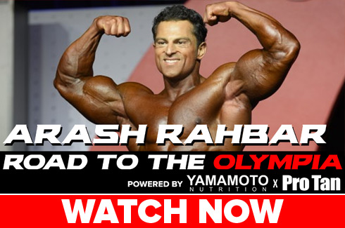 arash rahbar interview before olympia 2017