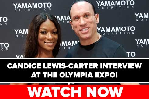 candice lewis carter interview olympia expo 2017