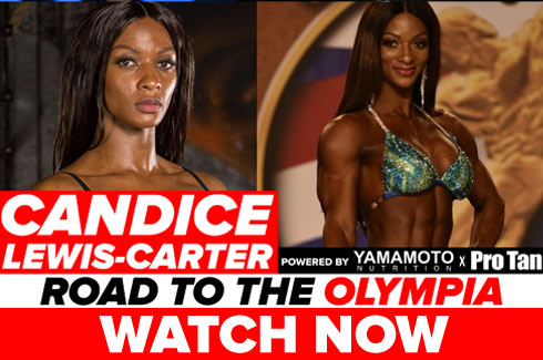 candice lewis carter interview pre olympia 2017