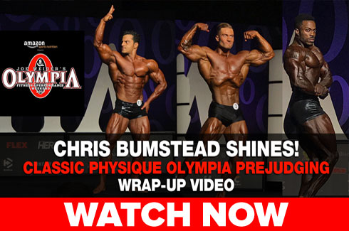 chris bumstead olympia 2017