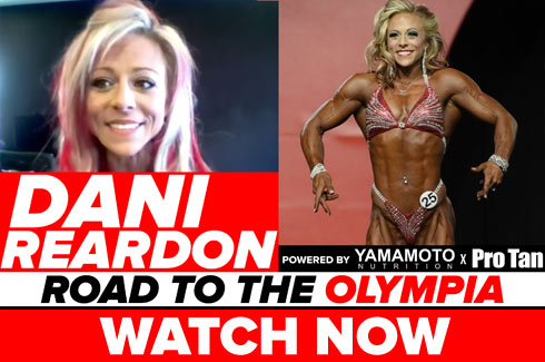 dani reardon interview pre olympia 2017