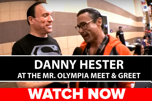 danny hester olympia 17