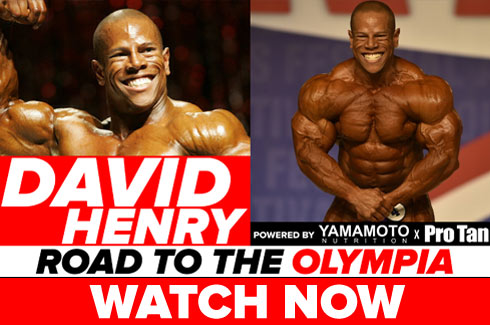 david henry interview pre olympia 2017