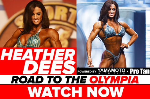 heather dees interview pre olympia 2017