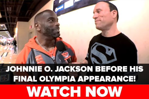 johnnie o jackson olympia 2017 interview