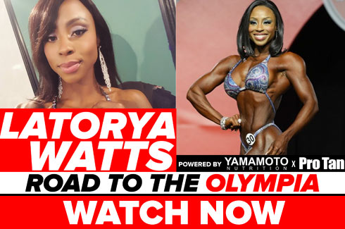 latorya watts interview pre olympia 2017