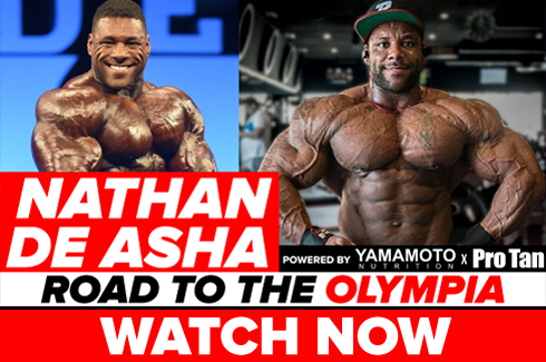 nathan de asha interview before olympia 2017