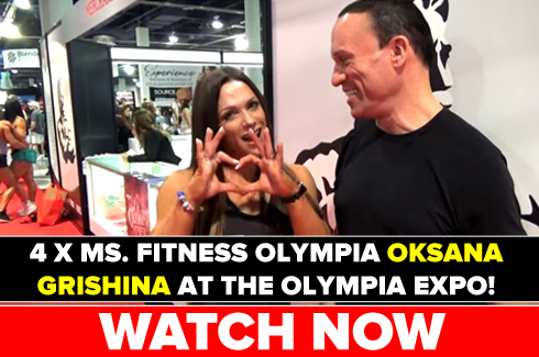 oksana grishina interview at olympia 2017