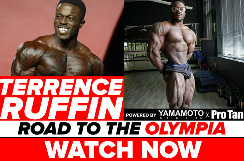 terrence ruffin interview pre olympia 2017