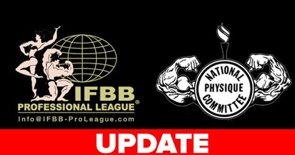IFBB NPC SHOWS POSTPONED