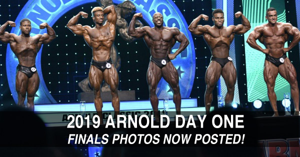 arnold19 finals day one posted