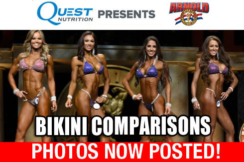 bikini comparision photos