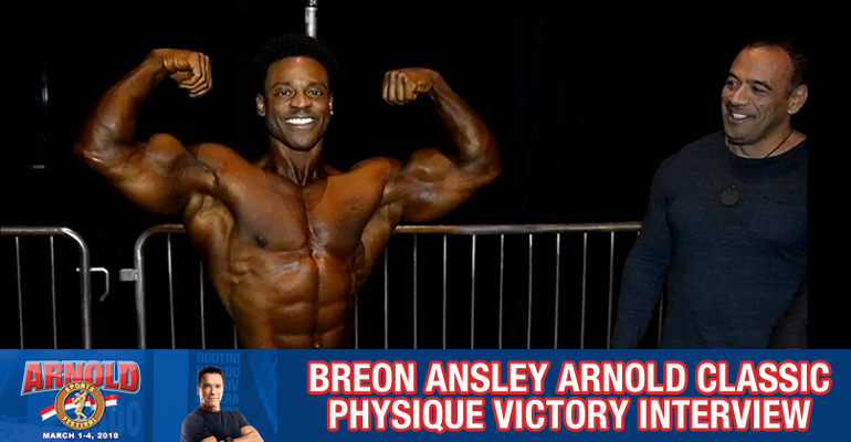 breon ansley winner interview