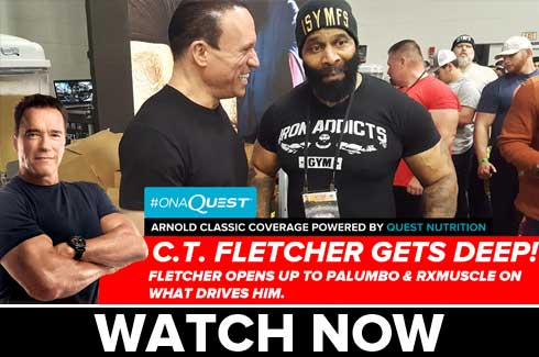 ct fletcher interview arnold classic 2017
