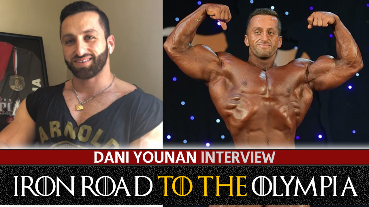 dani younan pre olympia interview