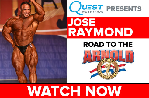 jose raymond interview before arnold classic 2017