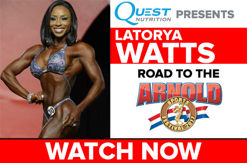 latorya watts interview arnold classic 2017