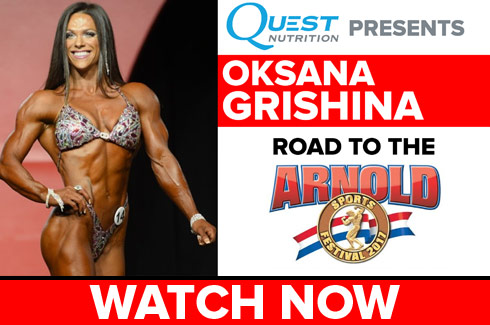 oksana grishina interview before arnold classic 2017