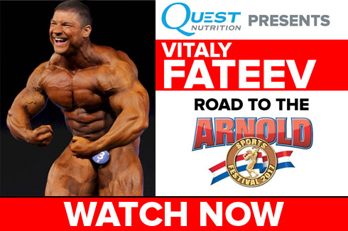 vitaly fateev interview before arnold classic 2017