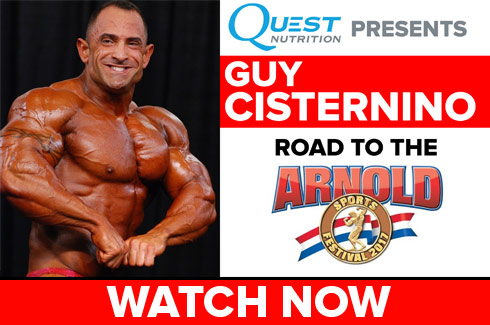 guy cisternino interview arnold classic 2017