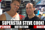 Steve Cook At The Optimum Nutrition Booth! 2016 Olympia Expo!