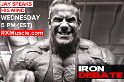 Jay Cutler Speaks His Mind! - Iron Debate - Jay Cutler / Aceto / Romano / Palumbo - 1/20/16