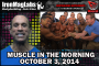 Muscle in the Morning: October 3, 2014
