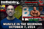 Muscle in the Morning: October, 7, 2014